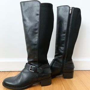 New Franco Sarto Black Boots Size 7